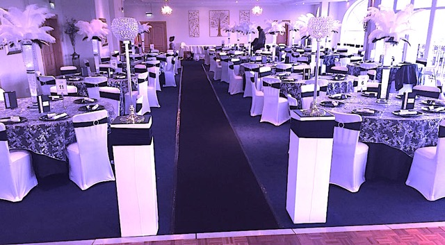 Eagle Catering - Black & White Theme